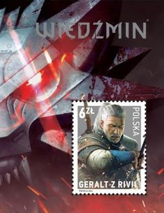 Poland's getting a limited edition Geralt Witcher stamp