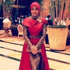 64 Best Baju Batik Muslimah Images In 2018 Hijab Fashion Batik