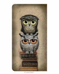 2017 Slim Diary - Book Owls