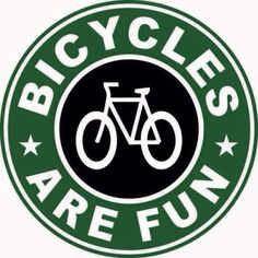 Bicycles are fun