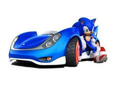 Adhesivo de Vinilo sobre el protagonista del videojuego Sonic. El primer juego de Sonic, titulado Sonic the Hedgehog, era un juego de plataformas lanzado en 1991 en el que Sonic, su protagonista, corría a través de los diferentes niveles del juego con el fin de detener al Doctor Robotnik y evitar que se apodere del mundo.