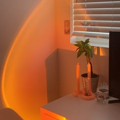"""Jacinda on Twitter: """"so my sunset lamp arrived and i love it - the only minor problem i have with it is, i wish it was brighter… """" Dream Rooms, Dream Bedroom, My New Room, My Room, Room Ideas Bedroom, Bedroom Decor, Room Goals, Aesthetic Room Decor, Dream Apartment"""