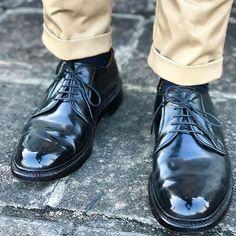 akiheimonki #alden #9901 #aldenshoes #aldenarmy #shellcordovan #足元倶楽部 #足元くら部 #足元 #靴 #今日の靴 #靴磨き  #鏡面磨き #鏡面仕上げ 2017/04/04 15:38:50