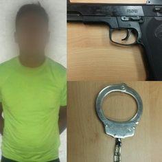 Esposó a su propia madre y la amenazó de muerte con pistola de postas por no tener mil pesos para prestarle; Lo arrestan en Juárez   El Puntero
