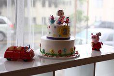 Peppa Pig Peppa Pig Cake Birthday Cake