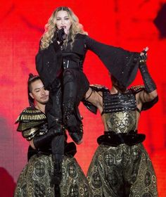 "Madonna takes to the stage on her ""Rebel Heart"" tour at Montreal's Bell Centre Wednesday night."