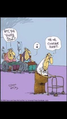 Nursing home humor.