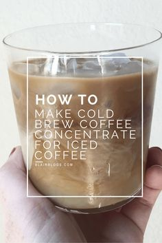 How To Make Cold Brew Coffee Concentrate For Iced Coffee (How to Use a Toddy)… Cold Brew Coffee Concentrate, Cold Brew Coffee Recipe, Making Cold Brew Coffee, How To Make Ice Coffee, Coffee Uses, Fresh Coffee, Glass Coffee Mugs, Coffee Drinks, Drinking Coffee