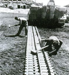 Changing tracks on a Tiger