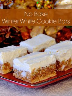 These Winter White cookies are some of our family favourites during the Holidays, especially. They are easy, no bake and freeze well, making them ideal for your Holiday treat list.