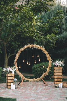 Diy wedding decorations 852306298215616261 - rustic pampas grass and wooden crates wedding backdrop Source by mydeersandflowers Wedding Ceremony Ideas, Outdoor Wedding Decorations, Backdrop Wedding, Table Decorations, Wedding Centerpieces, Wedding Reception, Reception Food, Wedding Church, Outdoor Weddings