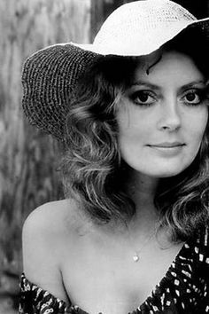 Susan Sarandon, 1970s .  A natural beauty.  A wonderful actress, a mom, a partner and an activist.