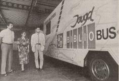 de bibliobus - bibliotheekbus kwam iedere vrijdagmiddag langs bij mijn lagere school.