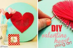 35 Best Yarn Valentine S Day Images Bricolage Mother S Day Crafts