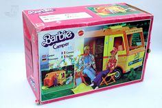 MATTEL Barbie Camper - cyan74.com vintage & pop culture
