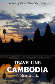 Planning a trip to Cambodia? This mini-guide has budget, accommodation and must-… Planning a trip to Cambodia? This mini-guide has Cambodia Beaches, Cambodia Travel, Vietnam Travel, Visit Thailand, Thailand Travel, Asia Travel, Beach Travel, Backpacking South America, Backpacking Europe