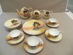 Vintage Noritake  child's China tea set
