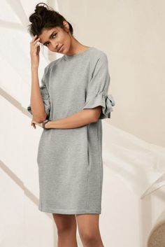 Buy Grey Sweat Dress online today at Next: United States of America