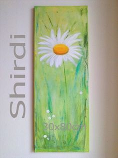 Daisy / Original Acrylic Painting