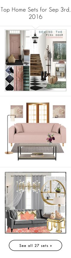 """Top Home Sets for Sep 3rd, 2016"" by polyvore ❤ liked on Polyvore featuring interior, interiors, interior design, home, home decor, interior decorating, NLXL, Minka-Lavery, Monarch and Bogs"