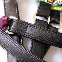Make Your Own Vinyl/Leather Look Handbag Straps - A Tutorial