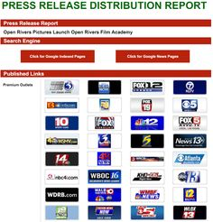 Press release writing and distribution service