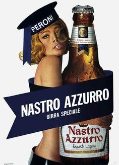 Retro poster x Peroni