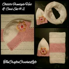 For a young child.  Crochet set.