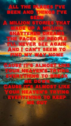 ART OF DYING - I WILL BE THERE (RADIO EDIT) LYRICS