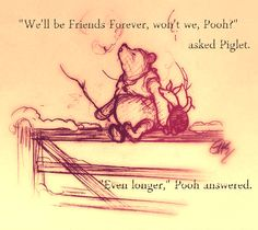 Winnie-the-Pooh by A. Milne - the best wedding readings in children's books Piglet, Pooh Bear, Eeyore, Winnie The Pooh Quotes, Winnie The Pooh Friends, Christopher Robin, Lynda Barry, Wedding Readings, Wedding Ceremony