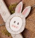 Bunny Picture Magnet The Round Top Collection E7002