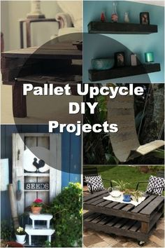 12 Awesome Upcycled Pallet DIY Projects  some cool things - coffee table or