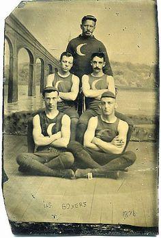 """U.S. Boxers"", ca. 1878"