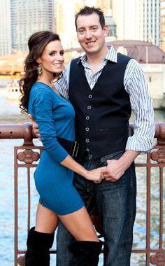 Kyle Busch,Samantha Sarcinella