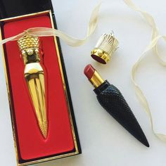 Probably the most luxurious lipstick I've ever seen - Christian Louboutin Lipstick