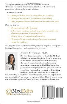 Medical school admissions resume