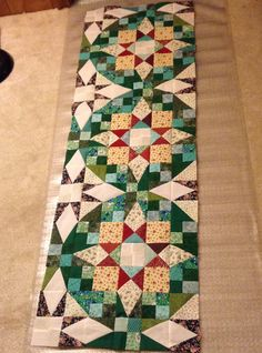 Bonnie Hunter Mystery Quilt 2017 - En Provence - from the Quilting Board.