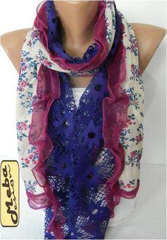 Fashion Elegant Scarf Trend Scarf by MebaDesign on Etsy