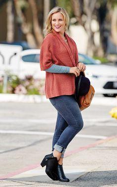 cabi's Rosewood Sweater