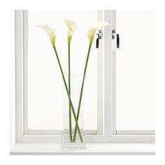 SMYCKA Artificial flower, Calla, white