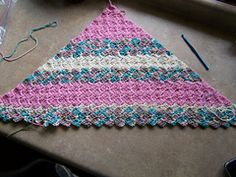 Corner-Start Crochet Afghan -- FREE PATTERN!! On Ravelry. This is one of my favorite patterns.