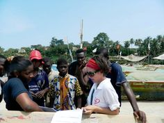 """""""I realized the great potential we all have to make a difference in the lives of others."""" Barbara, a great volunteer who served on the """"supporting efforts to stop child labor"""" project in #Ghana. #Review"""