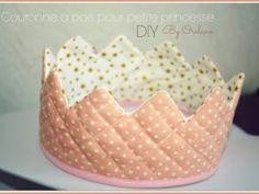 ♥ DIY : Couronne de princesse en tissu ♥ - par Orelane