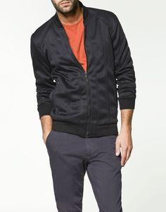 Zara Man - Zipped Fleece Sweater