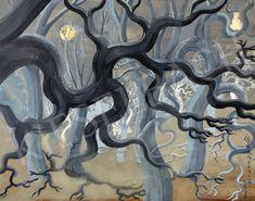 Csernefalvy Dóra - Albioni erdő (Fák), 1930-as évek | 56. Őszi Aukció aukció / 83 tétel