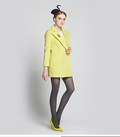 Material: Wool Color: Green Size: S/M/L