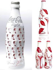 32 Design de bouteilles de coca cola - Paperblog