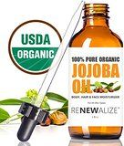 "★★★★★ Jojoba oil  ByJackieon  July 19, 2015  Verified Purchase  ""The oil arrive right on time and it's great .i love the way it makes my skin feel! My husband has psoriasis very severely on his hands, we have tried everything to give him relief! Jojoba oil has clear it completely! No dry cracking skin, just beautiful pink healthy skin! Thank you thank you thank you for this amazing product! It also helps with surgical scars after surgery, I have faint lines from double knee replacement…"