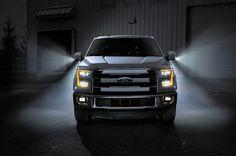 2015 Ford F150 Front View