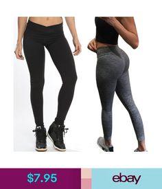 53c1374d5df5d5 $7.95 - Women High Waist Yoga Fitness Leggings Running Gym Stretch Sports  Pants Trousers #ebay #Fashion